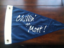 Chillin The Most  Flag Navy Pennant New 12 x18 inch KID Rock DETROIT