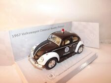 "1967 Volkswagen Beetle Police Die Cast Metal Toy Model 5"" Kinsmart Collectable"