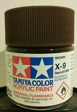 Tamiya acrylic paint X-9 Brown  23ml