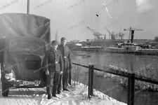 Negativ-königsberg-Kaliningrad-1943-ostpreußen-Transport-sd.kfz-port-Hafen-