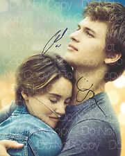 The Fault In Our Stars signed Woodley Elgort 8X10 photo picture autograph RP 2