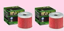 2x HF139 Oil Filter for Suzuki LT LTZ        LT-Z400  Quadsport  2003-14