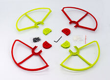 2RED/2GREEN SNAP ON/OFF PROP GUARDS QUICK RELEASE DJI PHANTOM 1 2 3 PRO VISION+