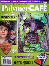 PolymerCAFE Polymer Cafe Clay Magazine - June 2012 New
