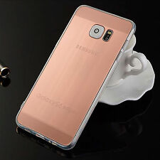 Luxury Plating Metal TPU Soft Silicone Phone Case For Samsung Galaxy S6 S6 Edge