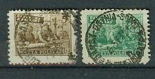 Polen Briefmarken 1950 Wiederaufbau Warschaus Mi.Nr.556+679