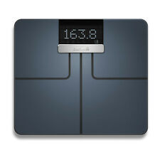 Garmin Index Black WiFi Bluetooth Measuring Metrics Smart Scales 010-01591-10