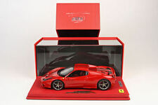 BBR 2014 Ferrari 458 Speciale A Spider Red Closed DELUXE W/CASE 1:18* P18102CRRV