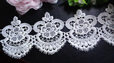 4 1/4 inch wide  Lace Fabric High Quality selling by the yard