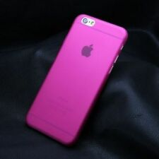 Ultra Slim Transparent Hard Matte Back Cover Case for Apple iPhone 5 6 6S Plus