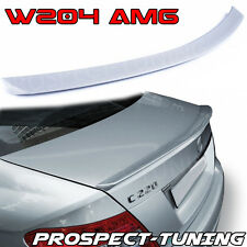 PT Mercedes-Benz C-Class W204 Rear Boot Trunk Spoiler Lip Wing Sport Trim AMG