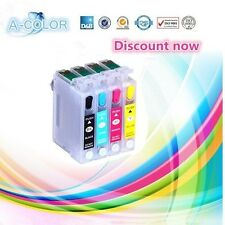 4PCS for epson t1281 t1282 t1283 t1284 Refill Ink Cartridge FOR EPSON S22 SX125