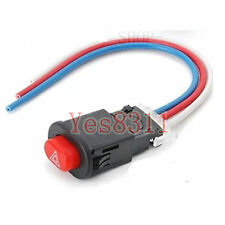 1pcs Motorcycle 3 Pin Double Flash Turn Hazard Light Switch with wires