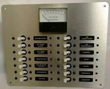Marine Electrical Panel DC Distribution with Analog DC Volt Meter