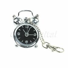 New Portable Battery Metal Mini Bell Alarm Clock Retro Style  Digits Gif Pointer