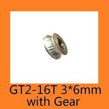 GT2-16 3mm Teeth with pulley for Timing Belt Synchronous Wheel 3D Printer