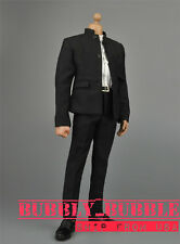 1/6 Chinese-style Costume Bruce Lee Kung Fu Suit A For Hot Toys SHIP FROM USA
