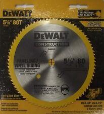 DEWALT DW9053 5-3/8-Inch 80 Tooth Paneling and Vinyl Cutting Steel Saw Blade