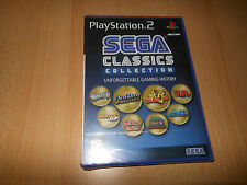 Sega Classics Collection (Sony PlayStation 2, NEW SEALED