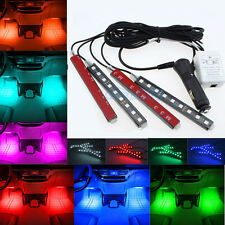 Glow Full Color LED Interior Kit FootWell Floor Seats Inside Light For Audi BM