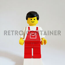 LEGO Minifigures - 1x ovr010 - Construction Worker - Omino Minifig 6541 6309