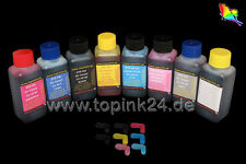 8x 1 L inchiostro ink for Canon Pixma Pro 100 S 100s cli-42 BK CYM pc pm GY GY cli42
