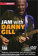 JAM WITH DANNY GILL Learn to Play Guitar Lick Library ROCK DVD & TAB LESSON solo