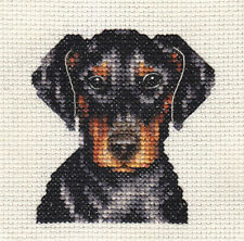 DOBERMAN PINSCHER ~ Dog, Full counted cross stitch kit + All materials