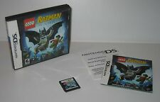 Nintendo DS LEGO Batman The Videogame USED Cart Case Manual Works/Plays Great