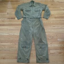 VINTAGE ORIGINAL WW2 USAAF ARMY AIR FORCES SUMMER FLIGHT SUIT AN 6550 SIZE M 40
