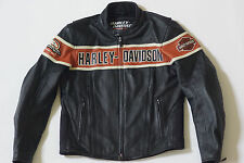 Harley Davidson Men's Thunder Hill Screamin Eagle Leather Jacket XL 98296-08VM