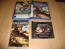 CALL OF DUTY 2 BIG RED ONE PARA LA SONY PS2 USADO COMPLETO