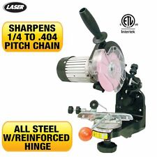 New Chainsaw Grinder bench mounted,sharpener,does all chain for Stihl,Husky