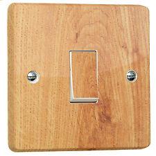 Commutateur de lumière imitation bois Wrap Autocollant pour Crabtree single 4070 unidirectionnel / GANG Vinyl