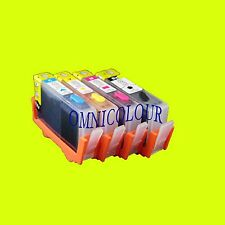4 compatible refillable cartridge NO CHIP for HP934  HP 935 934 6812 6835