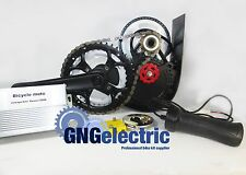 48V500W GNG CHAIN REDUCTION MID DRIVE ELECTRIC MOTORIZED E BIKE KIT (BRUSHLESS)