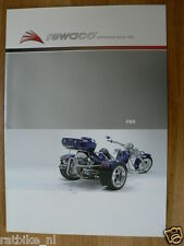D257 BROCHURE REWACO TRIKES FX4 ENGLISH,GERMAN,FRENCH AND ?    16 PAGES