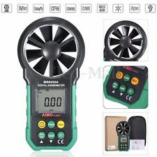 AIMOmeter LCD Digital Wind Speed Gauge Air Volume Velocity Meter Anemometer