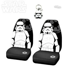 STAR WARS STORMTROOPER 3PC CAR SEAT COVER WITH KEYCHAIN SET FOR BMW