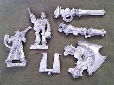Warhammer 40k Eldar Visuel Plataforma + equipo + 2 armas-Metal-sin pintar