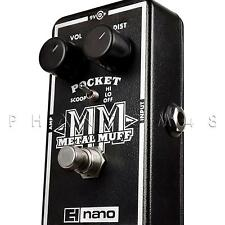 Electro-Harmonix Pocket Metal Muff Distortion Guitar Effects Pedal EHX Nano NEW