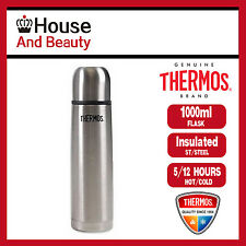 Thermos SlimLine 1Ltr Stainless Steel Vacuum Insulated Flask 100% Genuine!