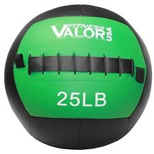 Valor 25lb Wall Ball Black WB-25 Fitness Ball NEW