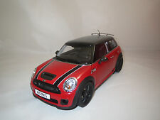 Kyosho  Mini  Cooper  S  (rot/schwarz) 1:18  ohne Verpackung !!!