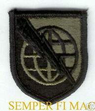 US ARMY STRATEGIC COMMUNICATIONS COMMAND SUBDUED PATCH USASTRATCOM PIN UP VET