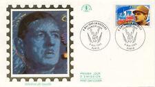 ENVELOPPE 1 er jour CHARLES DE GAULLE victoire 8 mai 1945 1995