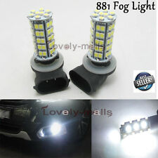 2pcs 881 LED Fog Light Bulbs Xenon White Advanced 68SMD 886 894 896 PGJ13 6000K