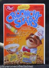 "Croonchy Stars Cereal Box 2"" X 3"" Fridge Magnet. The Swedish Chef The Muppets"