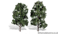 """TR3521 Woodland Scenics Cool Shade 2 Pack 8"""" - 9"""" Ready Made Trees TMC"""