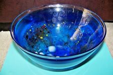 "Kosta Boda Art Glass Bowl, Bertil Vallien 59252, 8.5""D"